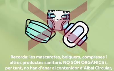 Ya podemos aportar de todo al contenedor de Albal Circular… ¡Siempre que sea orgánico!